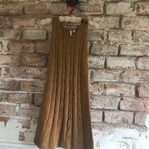 Nordstrom sleeveless sweater dress size s